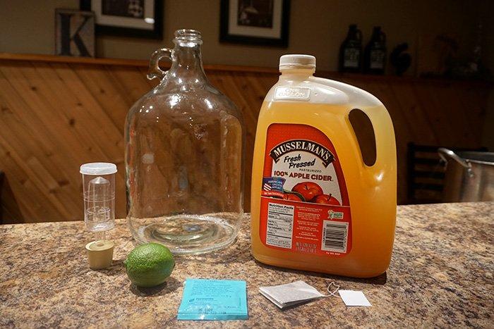 Dry English Cider Recipe