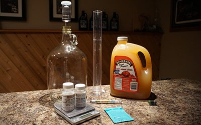 How to Make Hard Cider with Store Bought Apple Juice