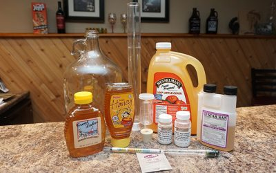 Apple Cyser Melomel – 1 Gallon Recipe
