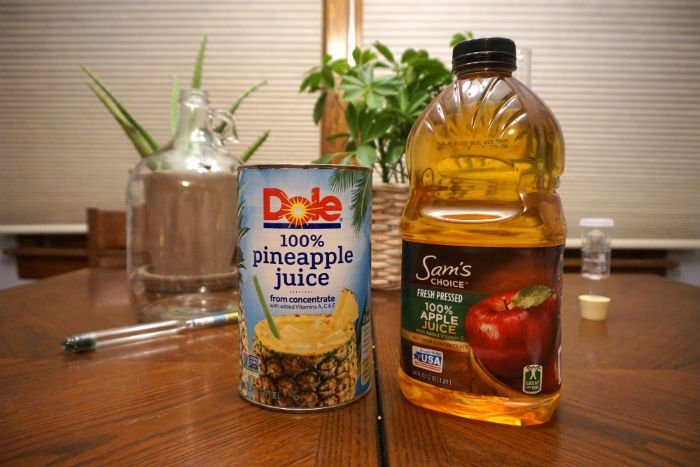 Homemade Pineapple Hard Cider Recipe